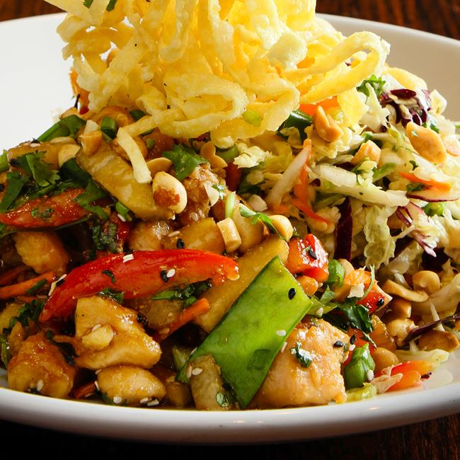 Asian Chop Chicken Salad at Sprecher's Restaurant & Pub