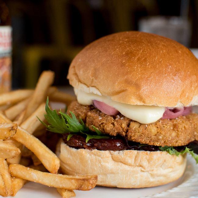 Veggie Burger at The Tandem