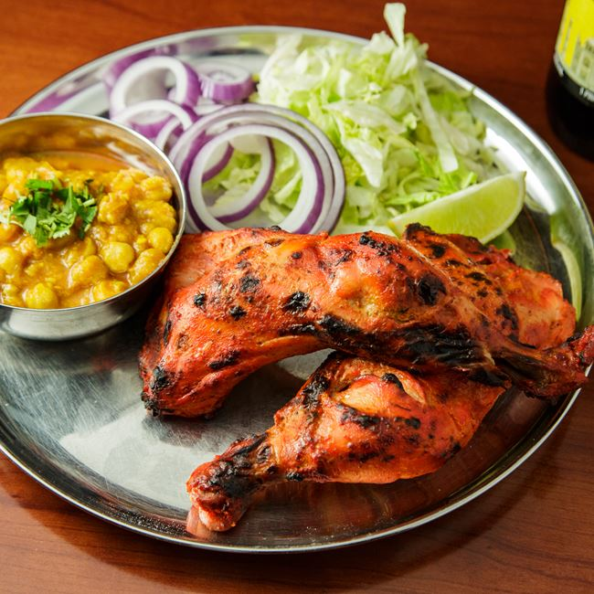 Tandoori Chicken at OM Indian Fusion Cuisine