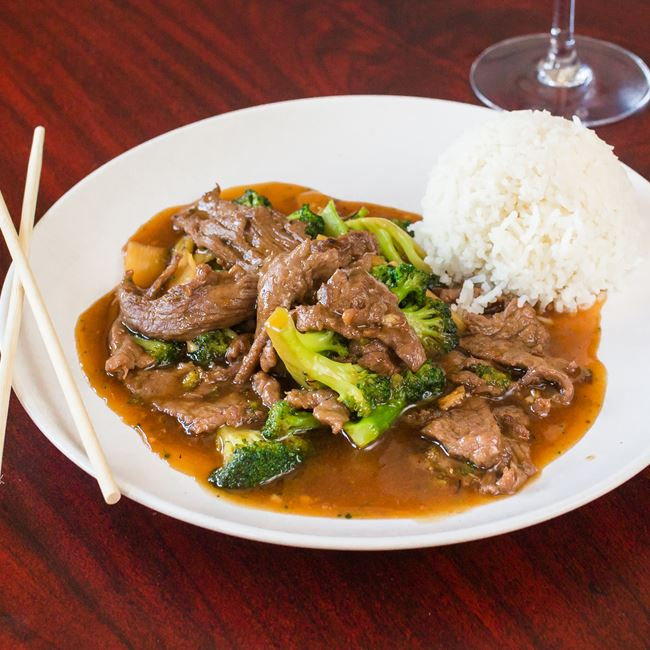 Beef with Broccoli at New Fortune Asian Cuisine