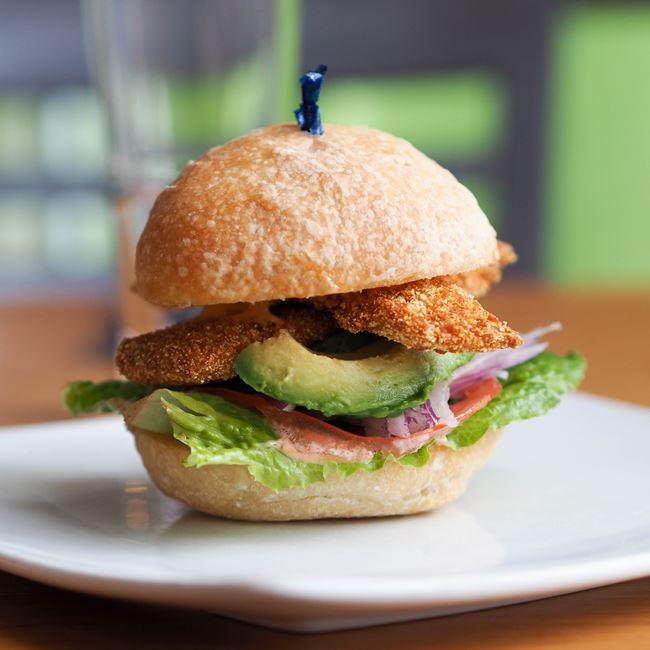Perch Sandwich at Graze