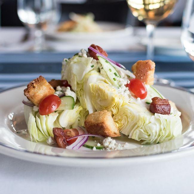 Wedge Salad  at Harbor House