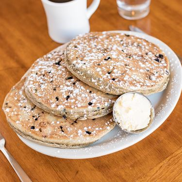 Blue Bucks Buckwheat Pancakes