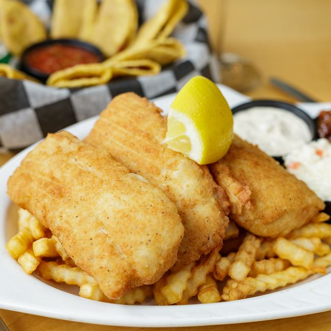 Deep Fried Cod Friday Fish Fry at The Hazelhurst Pub