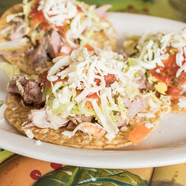 Tostadas a La Carte at La Taqueria El Jalapeño