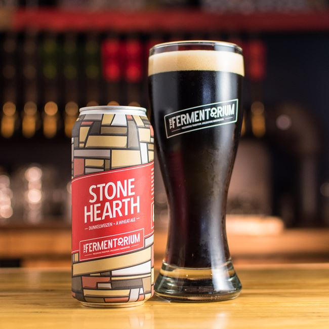 Stone Hearth Dunkelweizen at The Fermentorium Brewery and Tasting Room