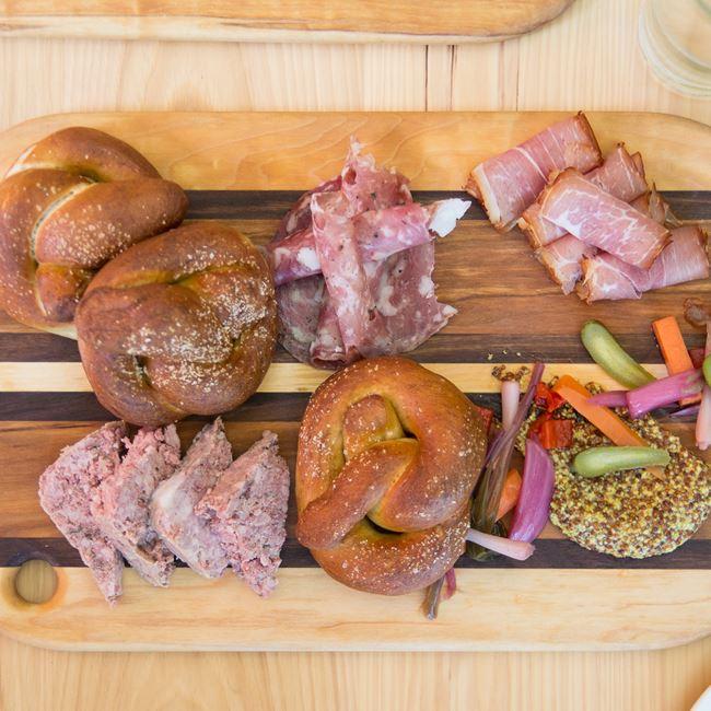 Pork and Pretzels at Oliver's Public House