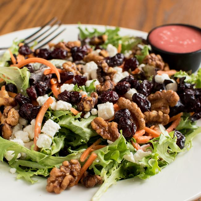 Cranberry Walnut Salad at C. Wiesler's Saloon & Eatery