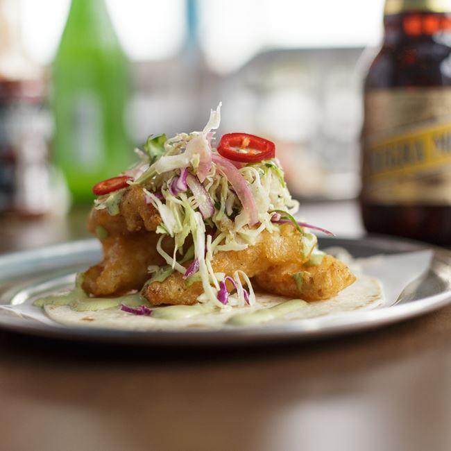 Friday Fish Fry Taco at Taqueria El Jefe