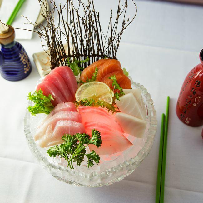 Sashimi Deluxe at Edo Japanese Restaurant