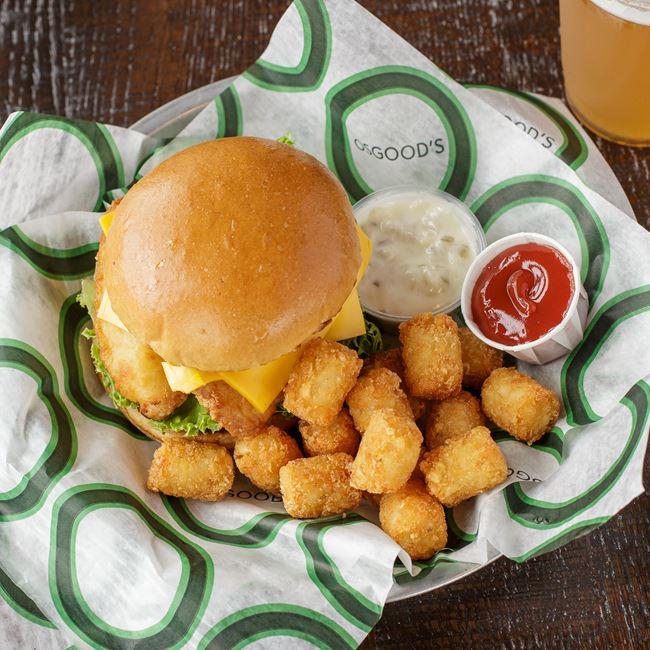 Crispy Fish Sandwich at Osgood's