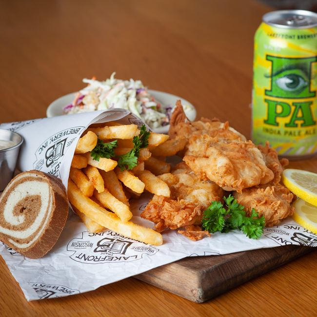 Award-Winning Fish Fry at Lakefront Brewery