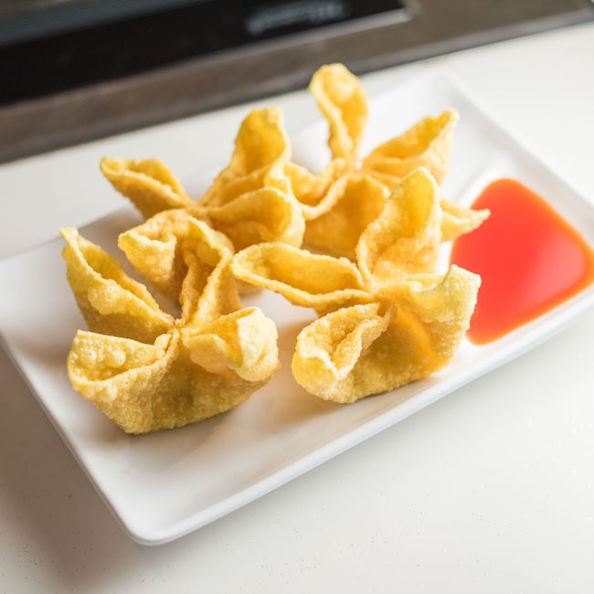 Crab Rangoon at Huan Xi Chinese Restaurant