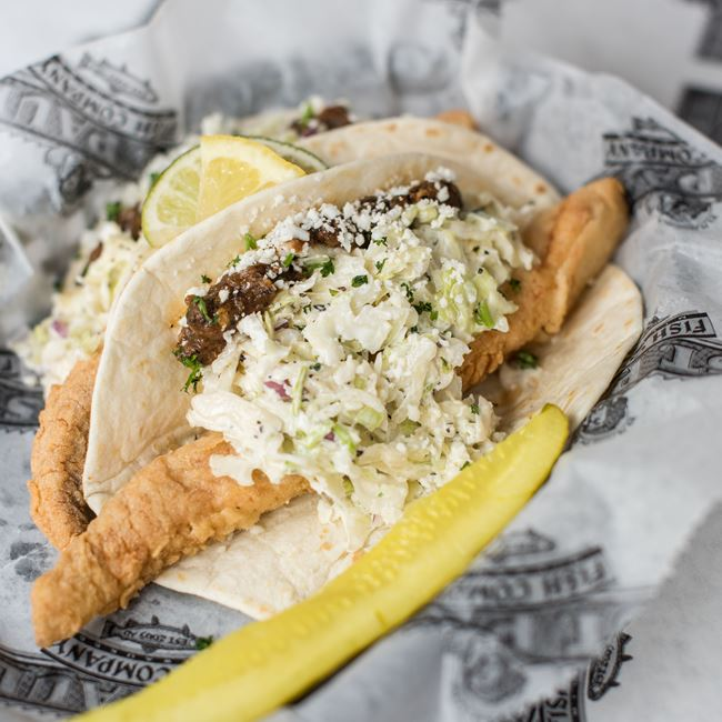 Fried Fish Tacos at St. Paul Fish Company