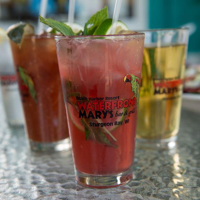 Mojito at Waterfront Mary's Bar & Grill