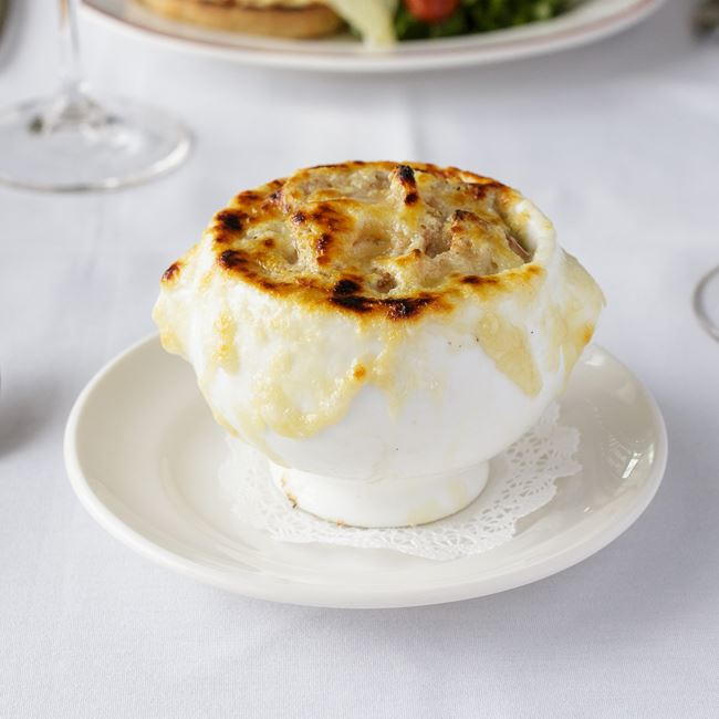 French Onion Soup at Café Grace