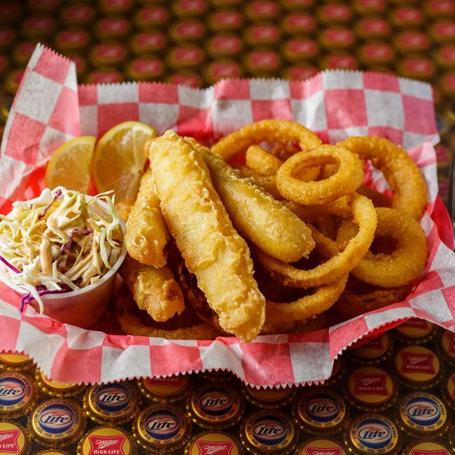 Fish & Chips at Vintage Spirits & Grill