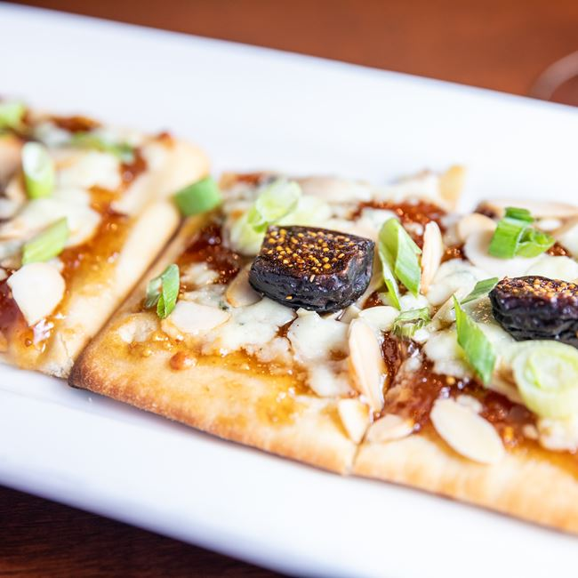 Fig Flatbread at Gardina's Wine Bar and Cafe