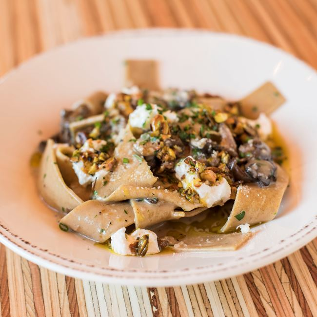 Whole Wheat Pappardelle at Brandywine
