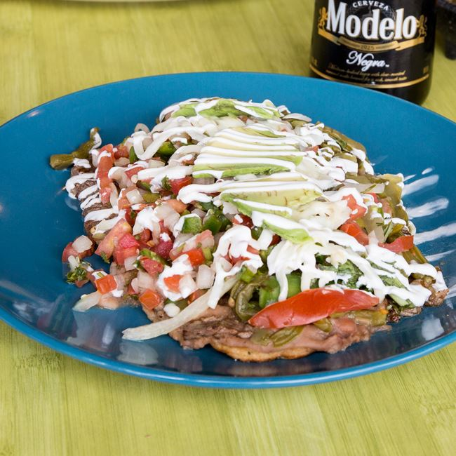 Huarache Mexicano at Taqueria Guadalajara