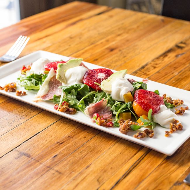 Burrata Cheese Salad