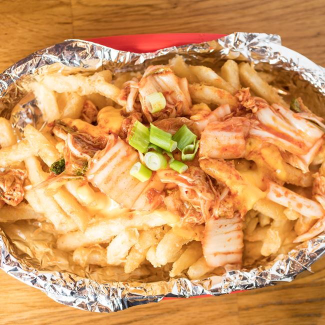 K-Town Fries at KBG Korean BBQ & Grill