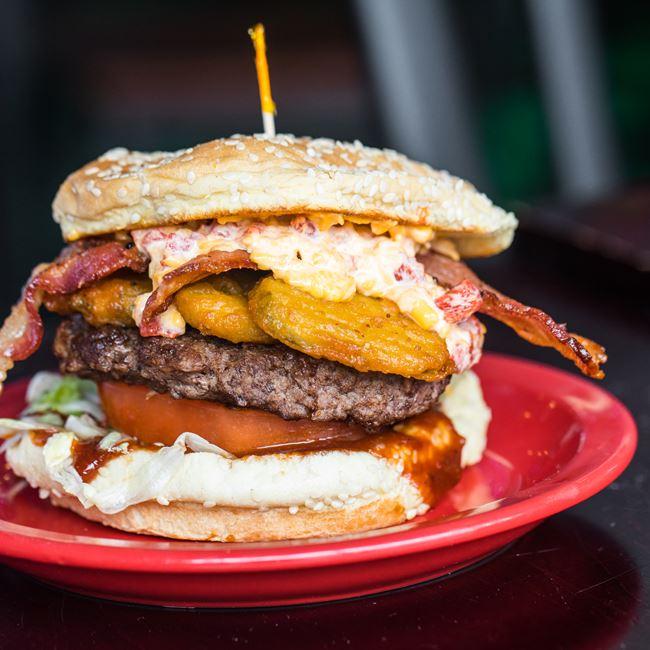 Ram Burger at Carytown Burgers & Fries