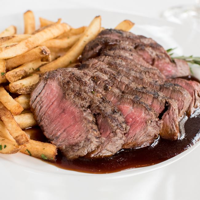 Steak & Frites at Johnny Delmonico's Steakhouse