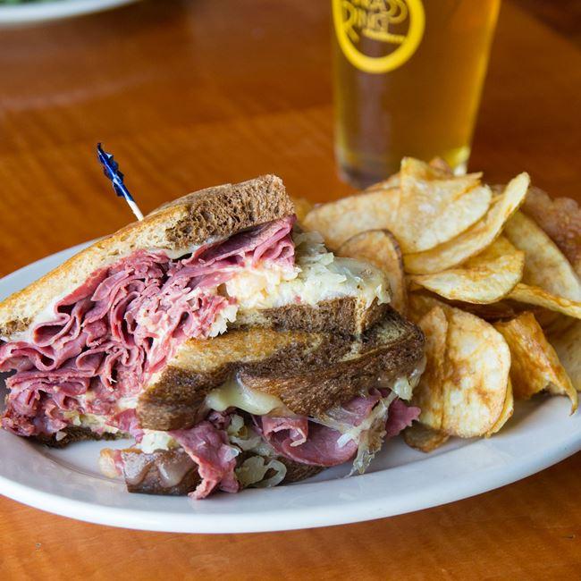 Reuben Sandwich  at The Brass Ring