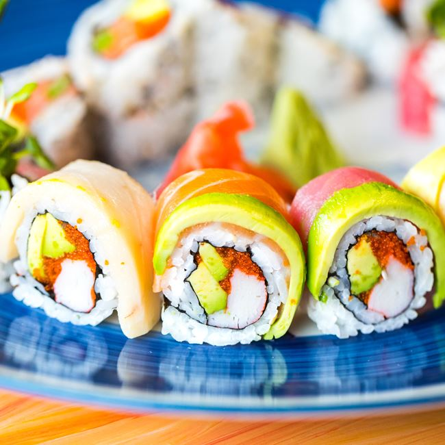 Sushi Combo at Nisa Thai Asian Cuisine