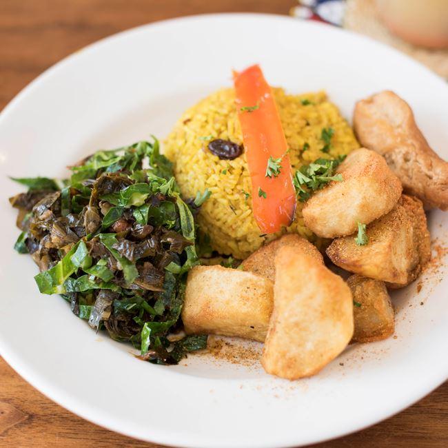 Vegan South African Curry at Irie Zulu
