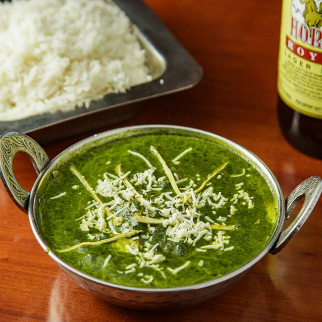 Saag at OM Indian Fusion Cuisine