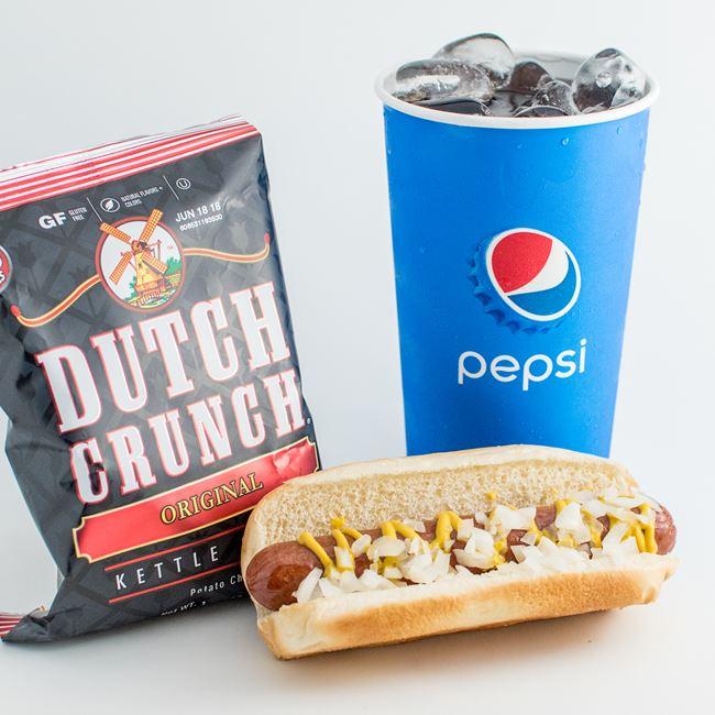 Hot Dog Combo at 104 Concessions