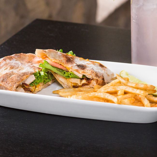 Chicken Club Sandwich at Anvil Pub & Grille
