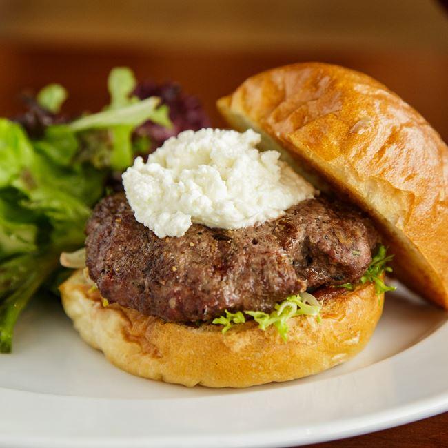 Winter V Burger