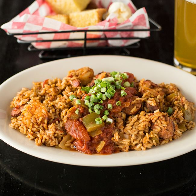 "Jambalaya ""Me-Oh-My-A"" at Maxie's"