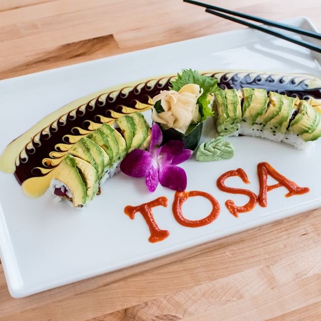 Tosa Roll at Thai-namite