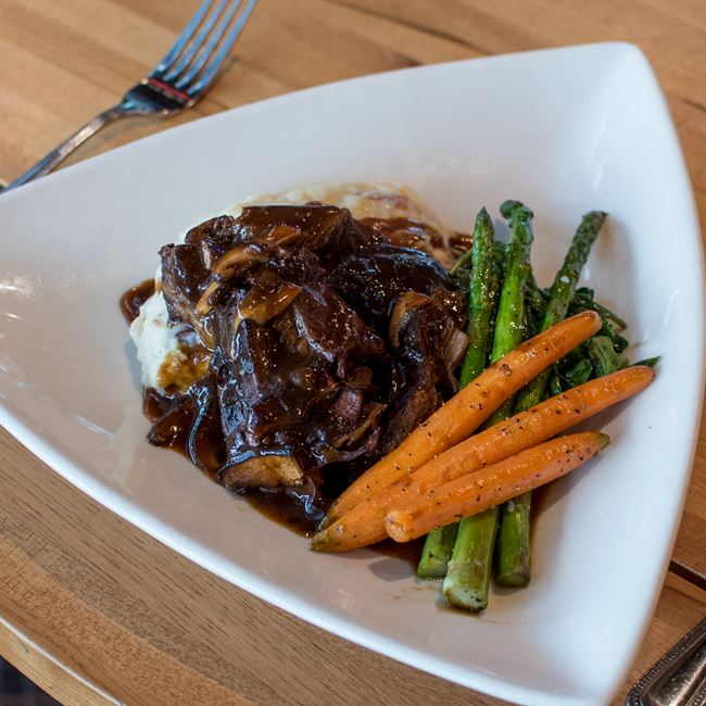 Mort's Pot Roast at Bonfyre American Grille