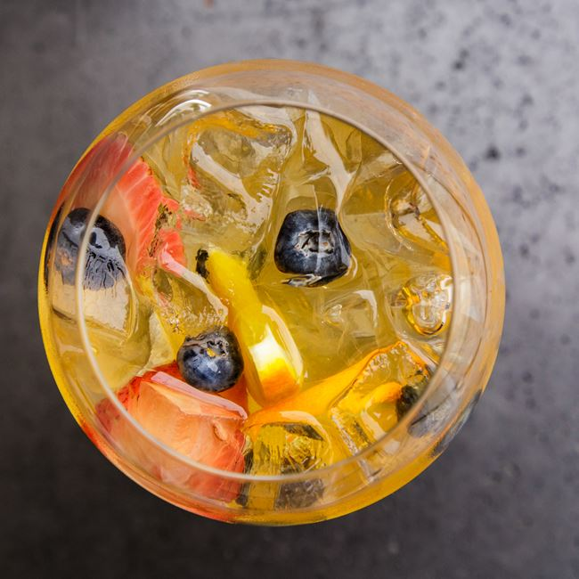 Summer Bourbon Sangria at Mason Street Grill