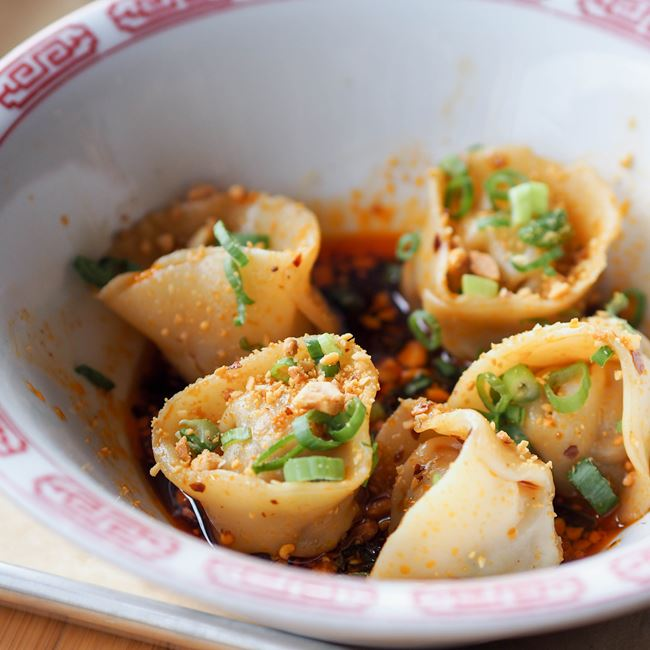 Sichuan Dumplings at Sujeo