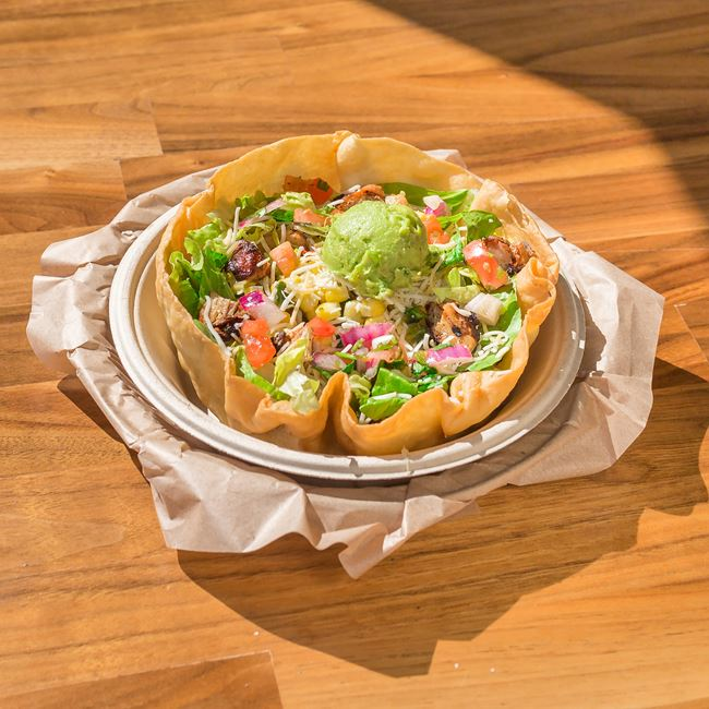 Taco Salad at QDOBA Mexican Eats