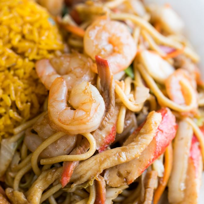 House Special Lo Mein at Good Taste Chinese Restaurant