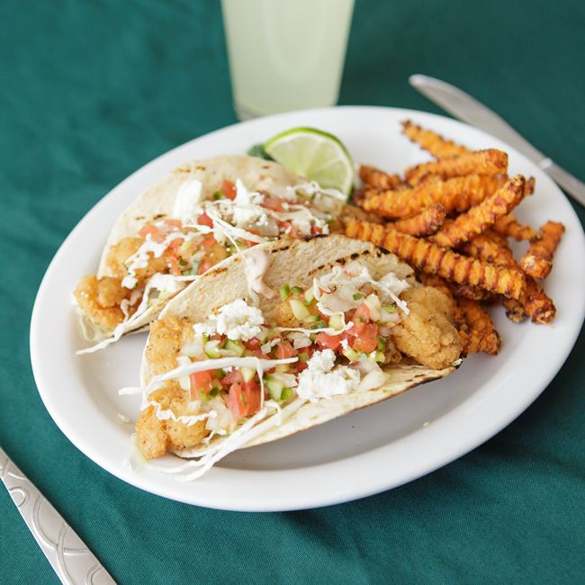 Shrimp Tacos at Shamrock Pub-n-Eatery
