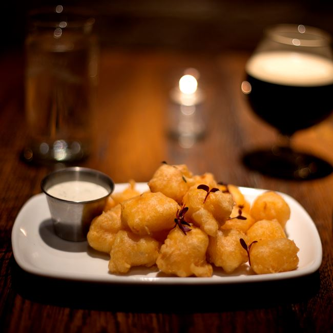 Cheese Curds at Distil