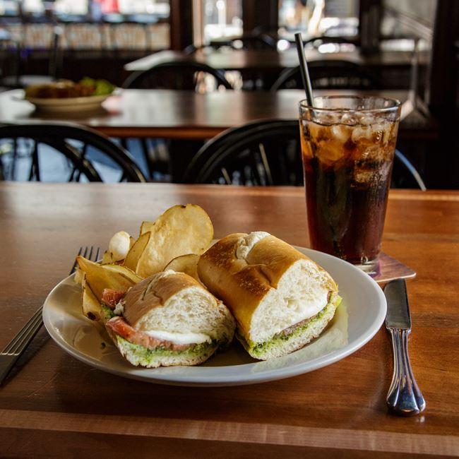 Sweet Lorraine Sandwich at Argus Bar & Grill