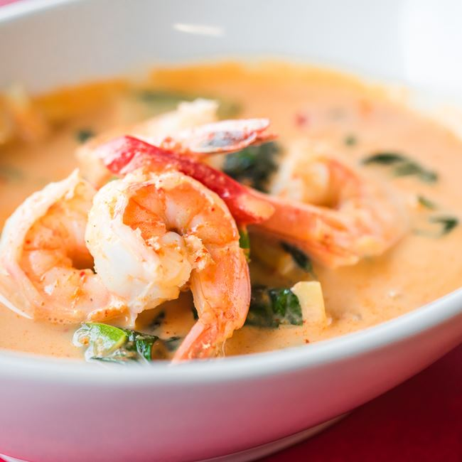 Yellow Curry at Nisa Thai Asian Cuisine