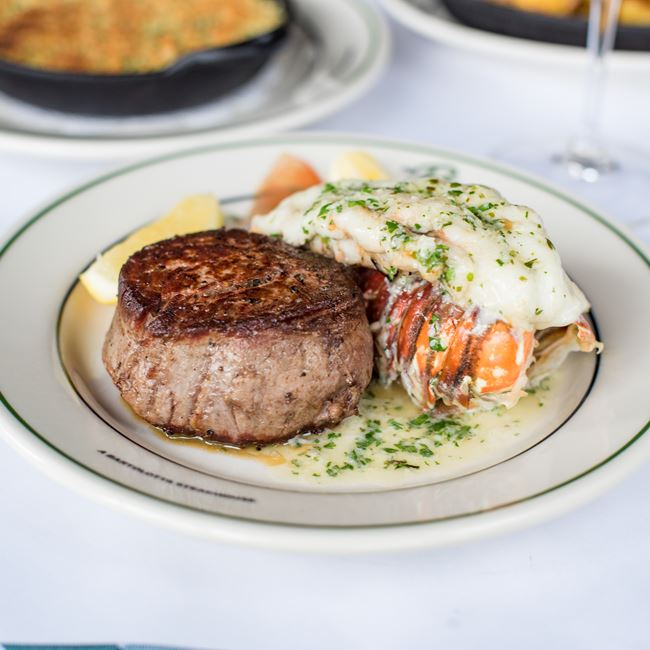"Classic ""Surf and Turf"" at Mr. B's - A Bartolotta Steakhouse"