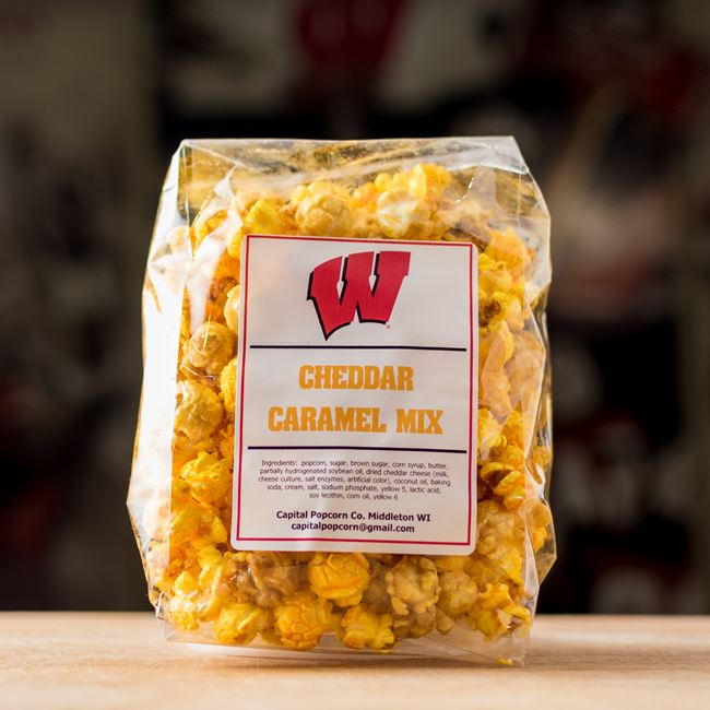 Gourmet Popcorn at Badger Alley Burgers T1