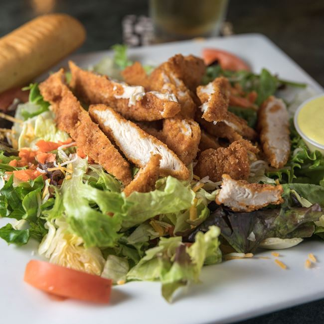 Chicken Tender Salad at The Brooklyn Grill
