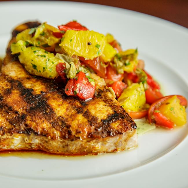 Grilled Swordfish at Mason Street Grill
